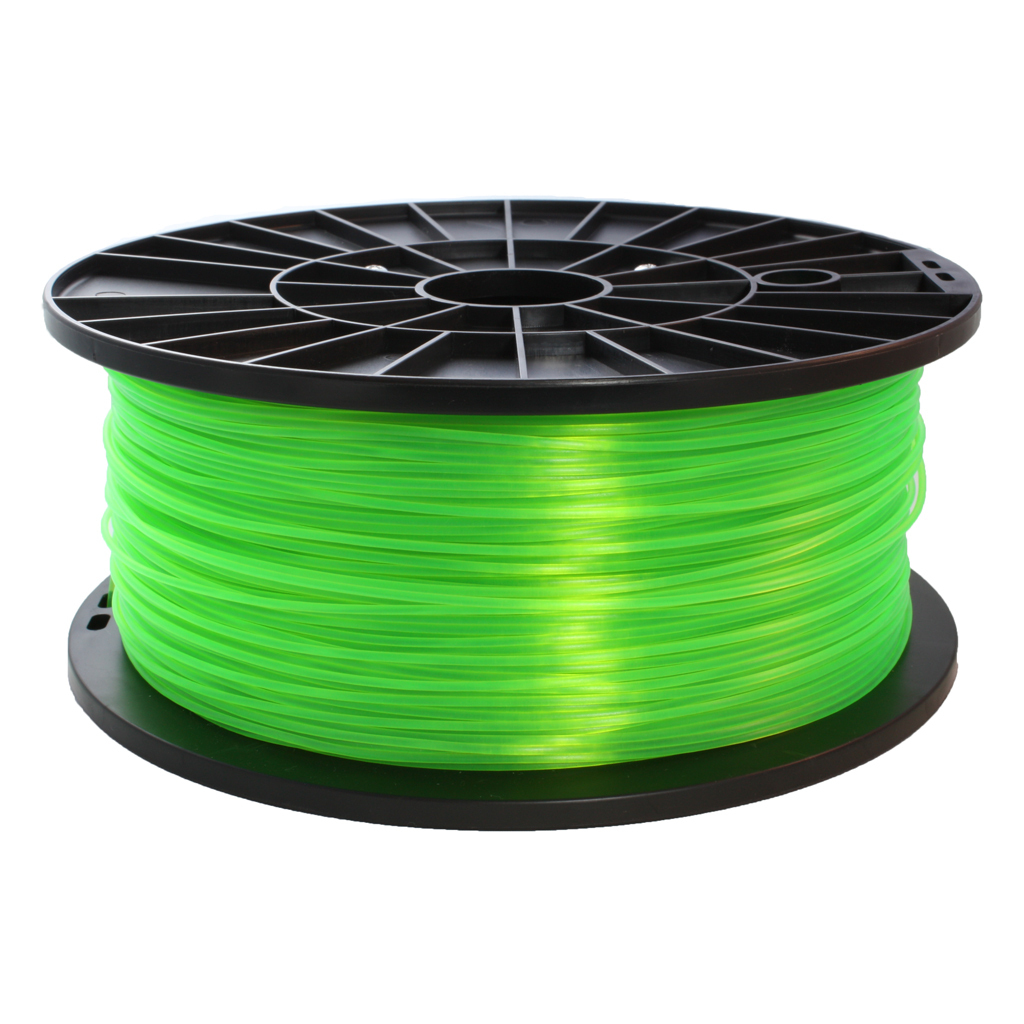 pla mm green 1 kg filament for 3d printer. Black Bedroom Furniture Sets. Home Design Ideas
