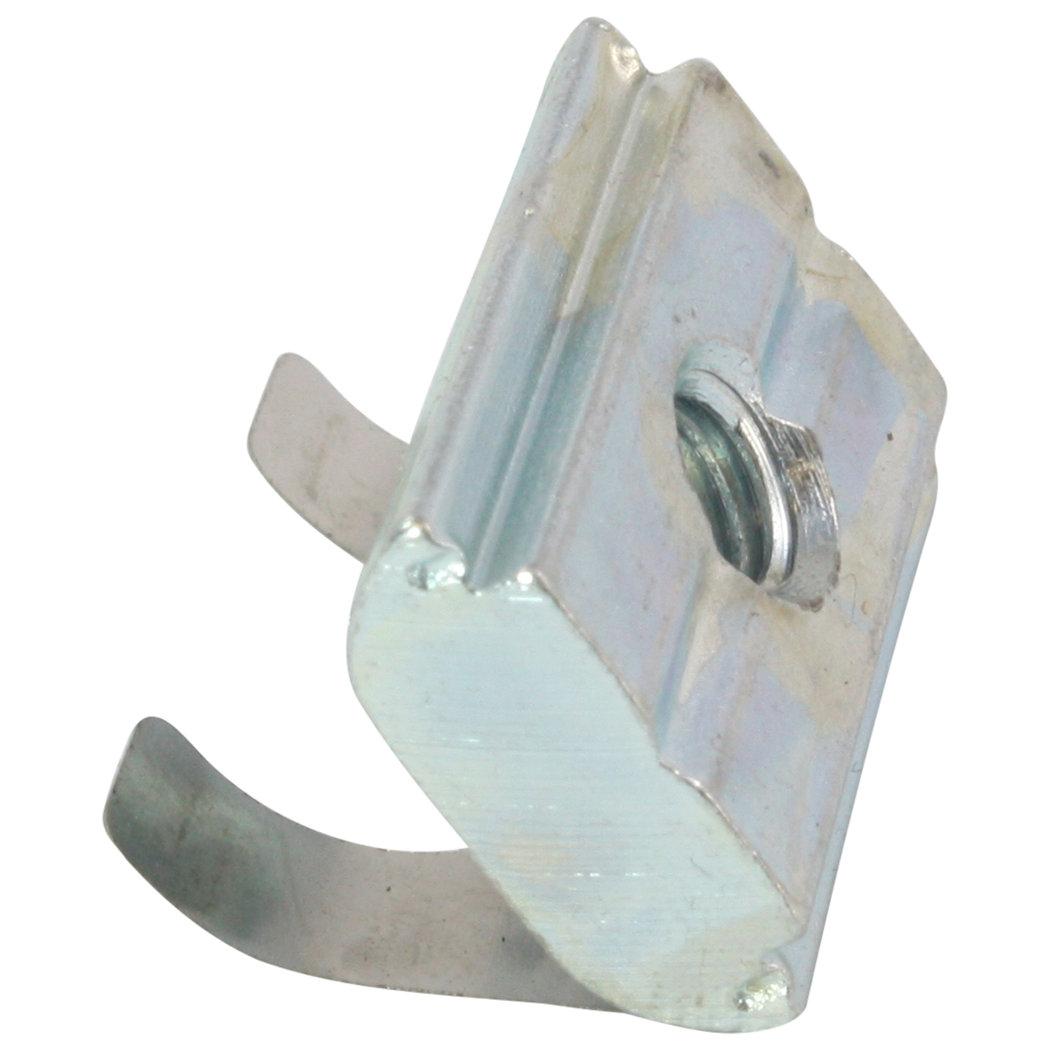 Federblech 100x Nutenstein einschwenkbar Nut 10 Typ B M4 mit Steg Stahl