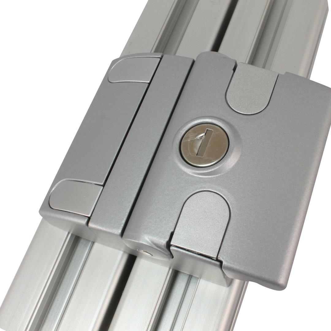 Slam Latch Compact Not Unique Aluminium Colour
