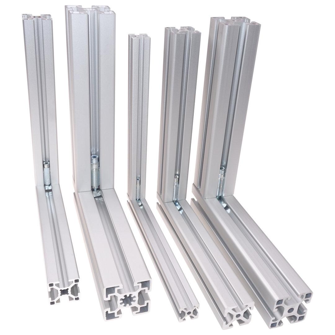 Stahl Typ B 10x Set Automatikverbinder Formverbinder Nut 8